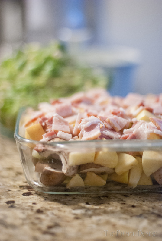 We struggled with naming this.  I mean, Apple Bacon Sheet Pan side doesn't really tell you how amazingly delicious this dish is! Perfect for Thanksgiving! https://wp.me/p4Aygm-2MR