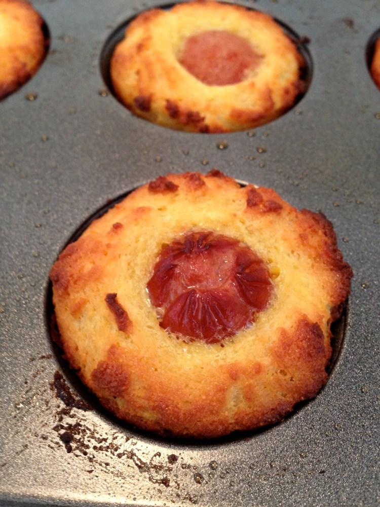 Kid-Friendly corn dog mini muffins (1/2)