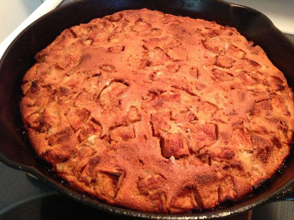Dutch Apple Pancake (1/4)