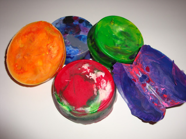 Melting Crayons = Art + Science