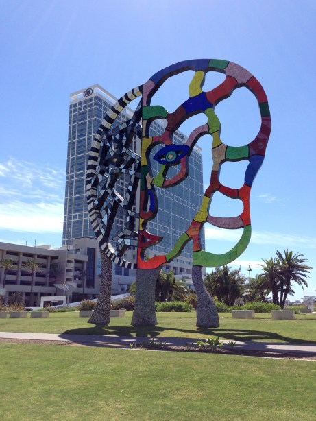 Sculpture in San Diego