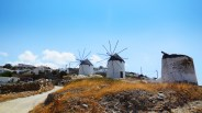 The famous Cycladian windmills