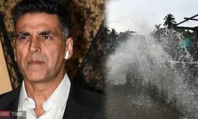 Cyclone Nisarga Akshay Kumar shares video on Hurricane Nisarga heading towards Mumbai