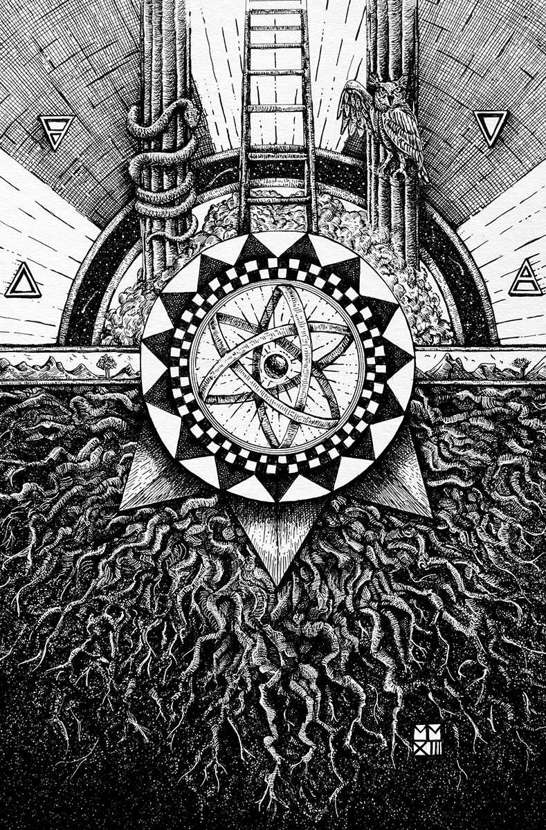 art, illustration, Ein Sofa, Ayn Sof, Freemasonry, Hermetic, Kabbalah