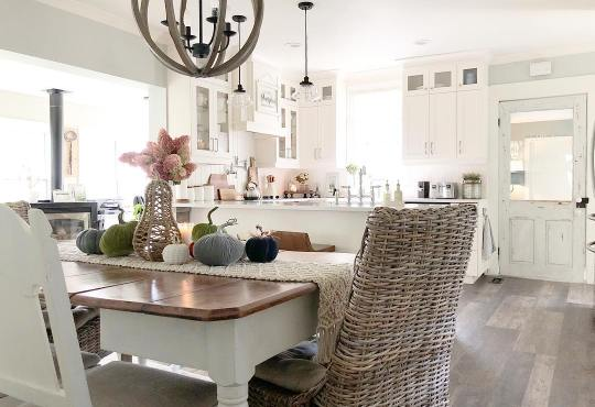 Perfect and cozy farmhouse style (Home tour)