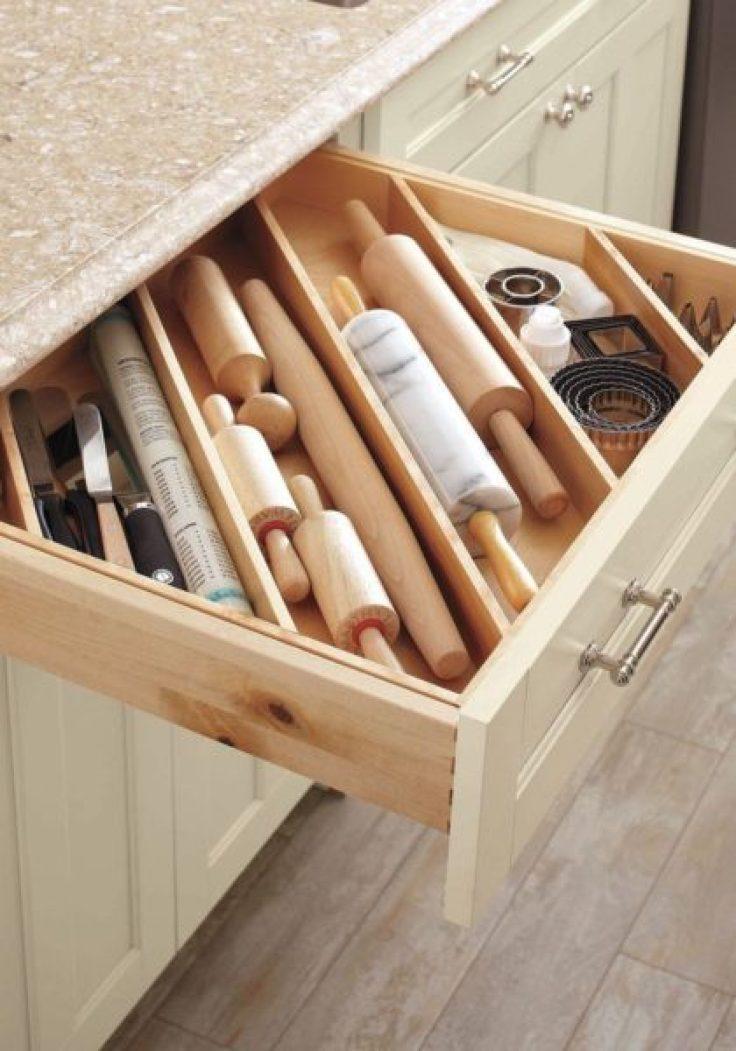 Kitchen counter between elegance and effectiveness