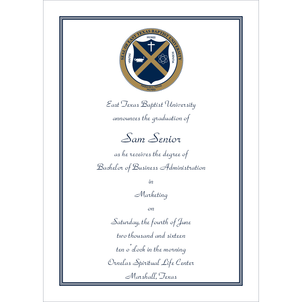 The Print Shop Graduation Announcements