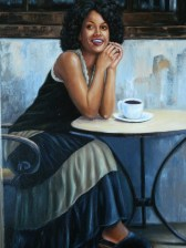 Afternoon Coffee Break 1 Artist: Angelmont