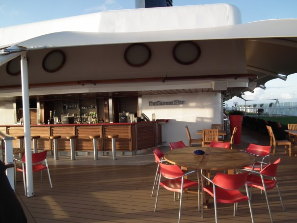 The Ocean Cafe on the Celebrity Eclipse. THE PRIVATEER CLAUSE photo