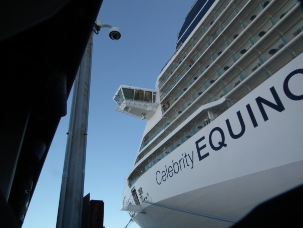 The Celebrity Equinox is one of many ships that work European schedules from spring to fall and offers great value on trans-Atlantic crossings. THE PRIVATEER CLAUSE photo.