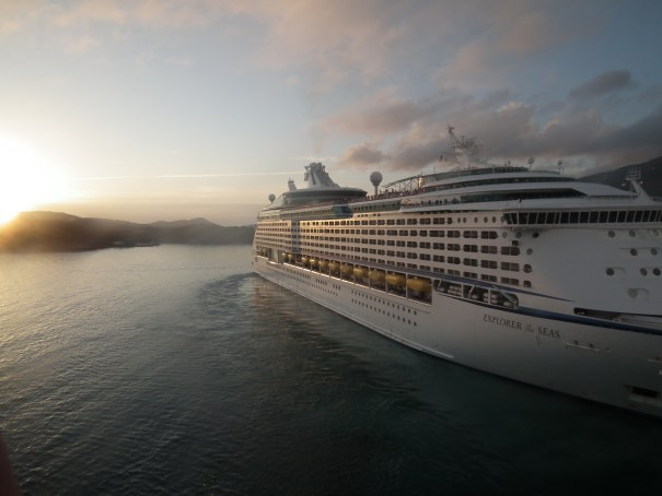 Explorer of the Seas at St. Croix.  THE PRIVATEER CLAUSE photo