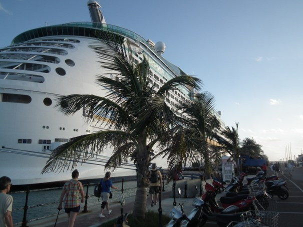 Explorer of the Seas docked at Bermuda