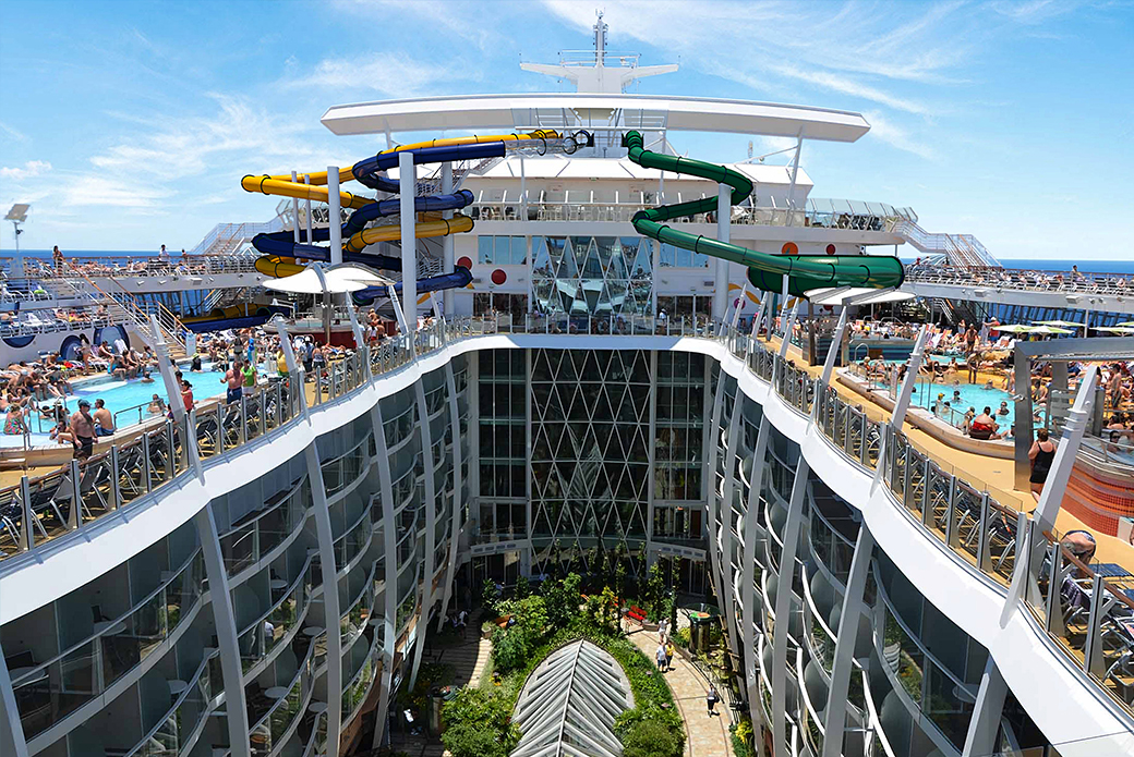 First pass from passengers on Harmony of The Seas is that they wish they had taken a pass