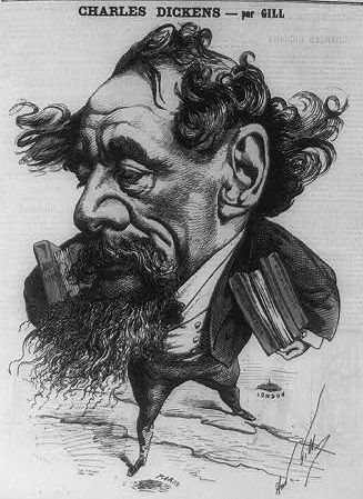 Charles Dickens per Gill