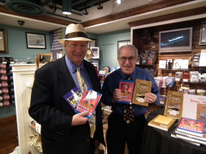 Ken Rossignol & Bruce M. Caplan at book signing in Titanic Museum in Branson, Missouri.