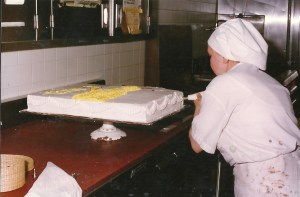 Training in the upgrading program of the Seafarer's school involves skills for merchant seamen as well as crews on cruise ships. An extensive food service and bakery program is included. ST. MARY'S TODAY photo