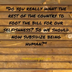 Subsidize Being Human?