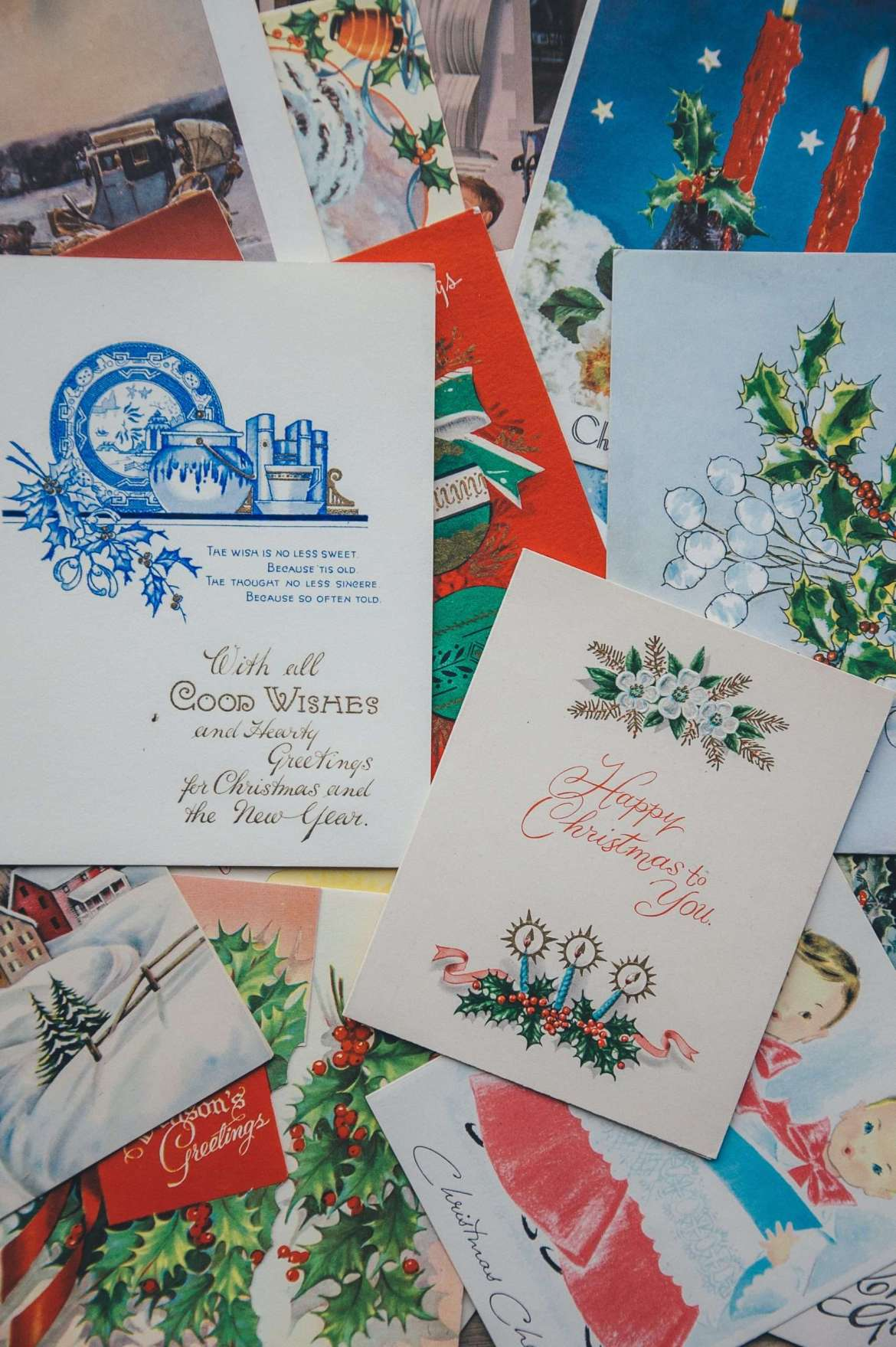Avoid stress at Christmas time by not sending Christmas cards.