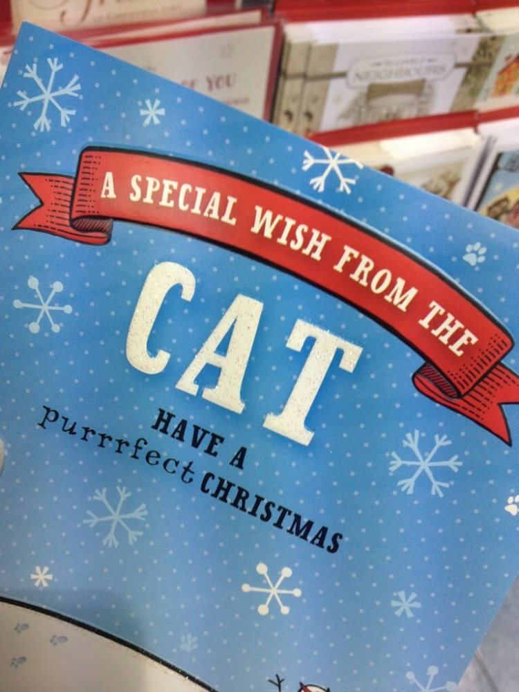 There really is a card for everything isn't there?