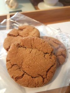 """Ginger """"snaps."""" Soft and chewy and spicy and SO GOOD."""