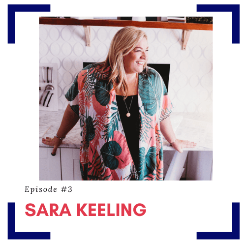 Episode number 3 TPD Guest Sara Keeling in the episode titled Your Design Firms First Hire