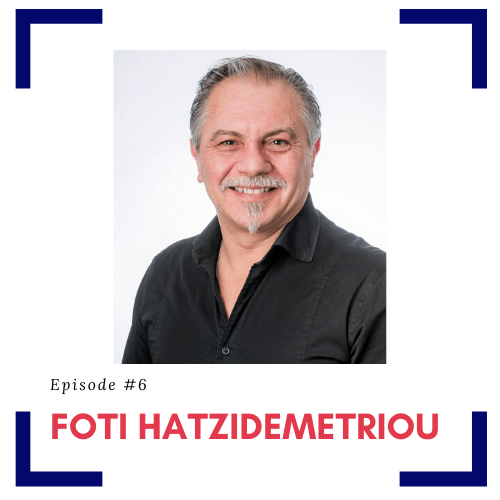 Guest Foti Hatzidemetriou with episode title Recommended Home Modifications for Aging and Living in Place