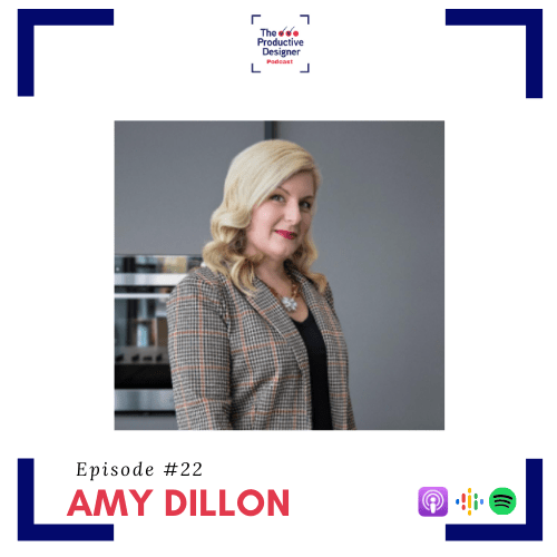 Amy Dillon as guest on episode titled TPD Chats with kicthen Designer Amy Dillon