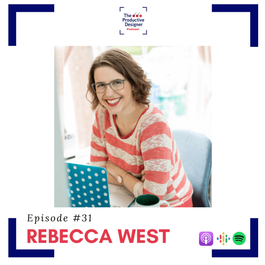 Rebecca West as TPD guest in the episode TPD chats with Rebecca West of Creating Your Happy Place podcast