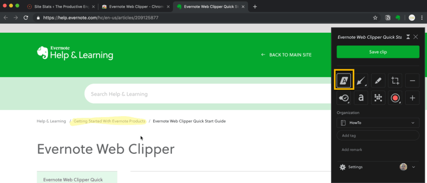 How to Use the Evernote Web Clipper – The Productive Engineer