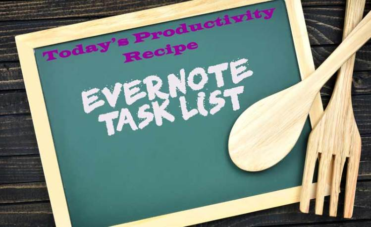 Evernote Task List