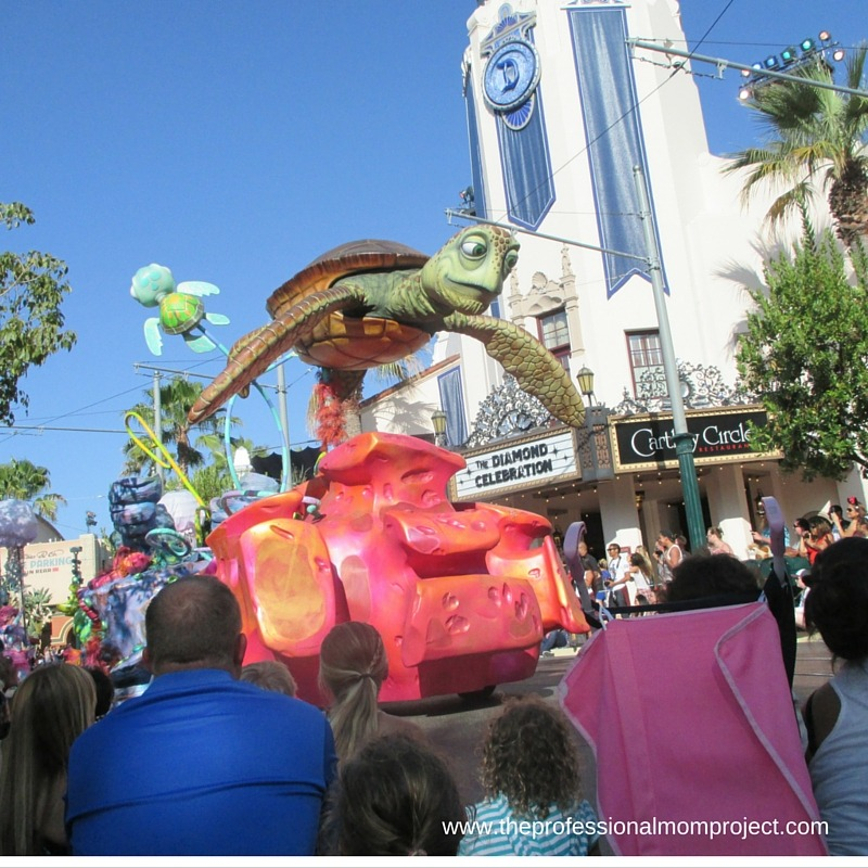 Pixar parade - Top Tips for Visiting Disneyland with a 4 year old by The Professional Mom Project
