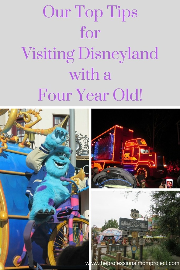 Our Top Tips for Visiting Disneyland with a Four Year Old! From The Professional Mom Project