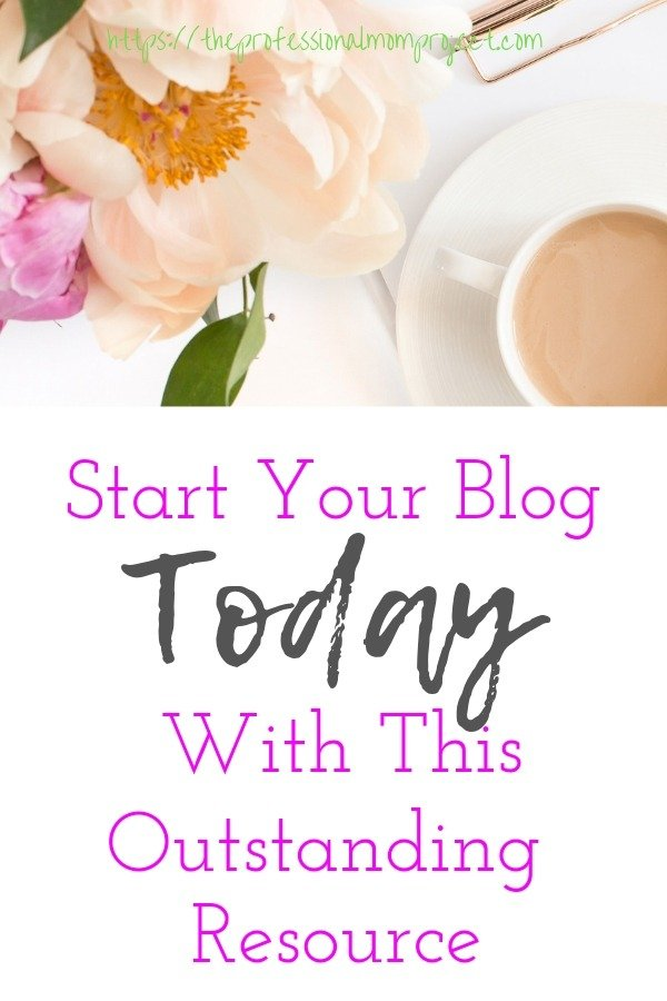 Check out this great blogging resource to help start your blog today! Building a Framework is a fantastic blogging resource for both new and intermediate bloggers!