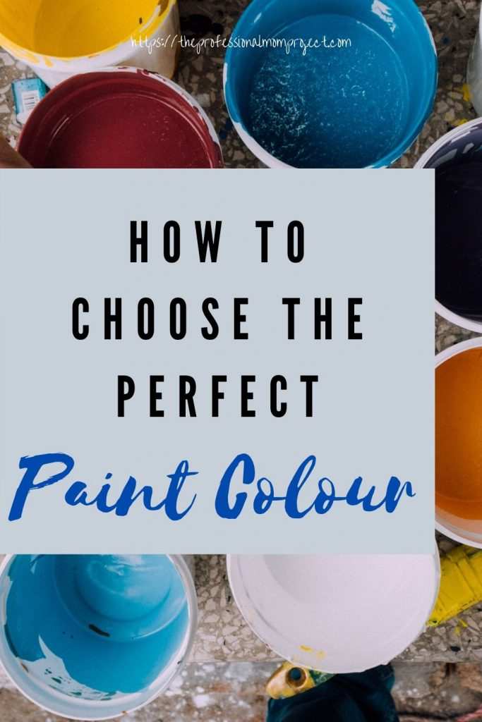 How to choose the perfect paint colour