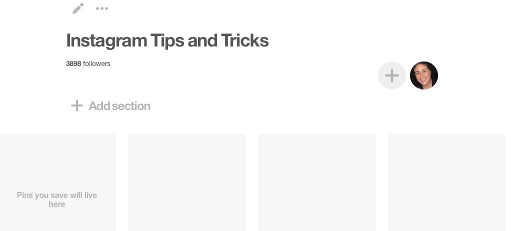 New Pinterest board - Pinterest for Beginners