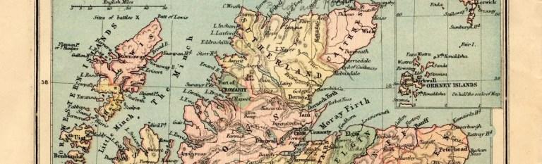 the professional traveller scottish highlands map