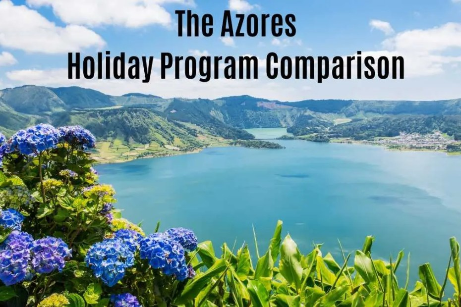 azores holiday comparison the professional traveller