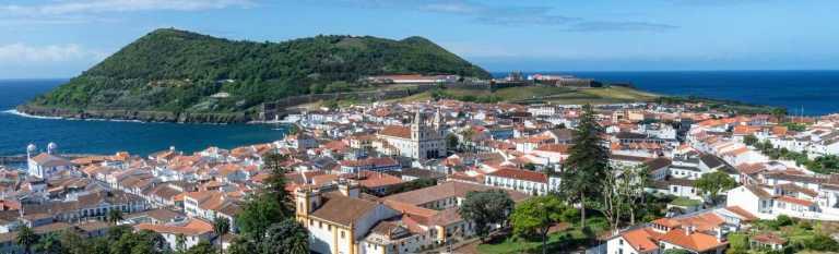 Azores Holiday Angra Do Heroismo view