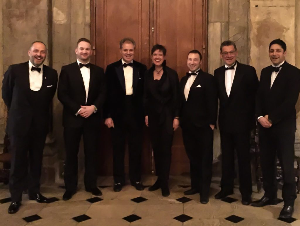Photo of Progeny team in Black Tie