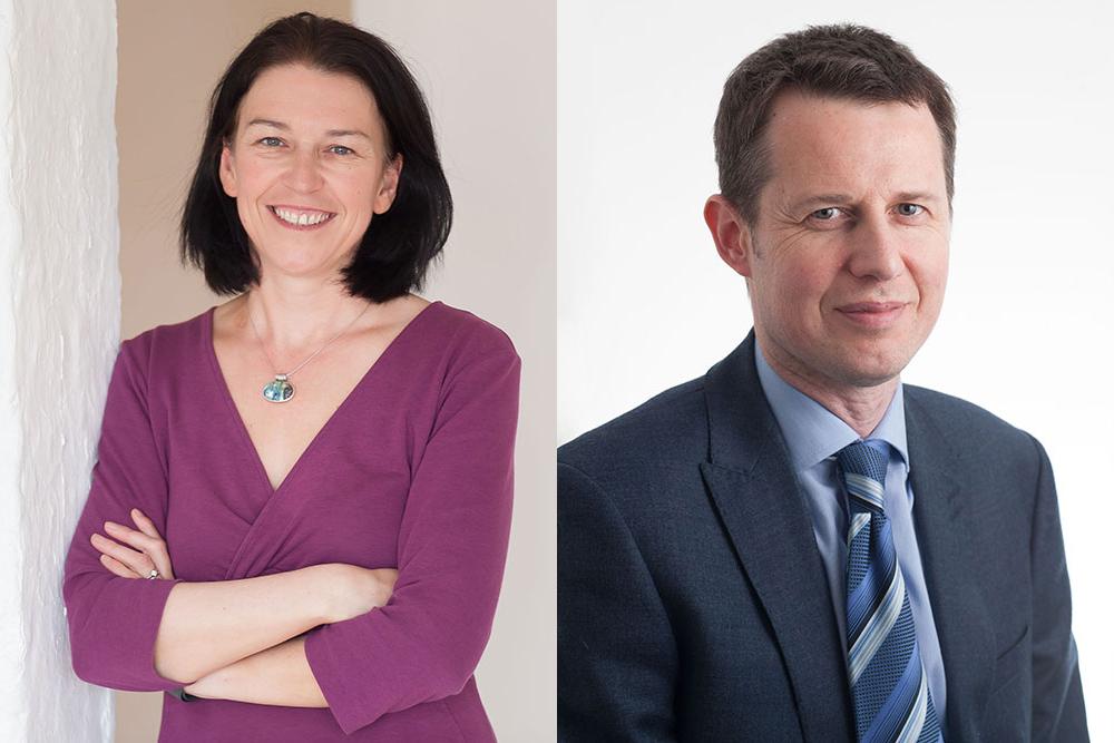 Photo of Frances Davies and Martin Hasyn
