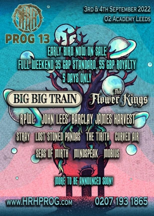 HRH Prog 13 Poster