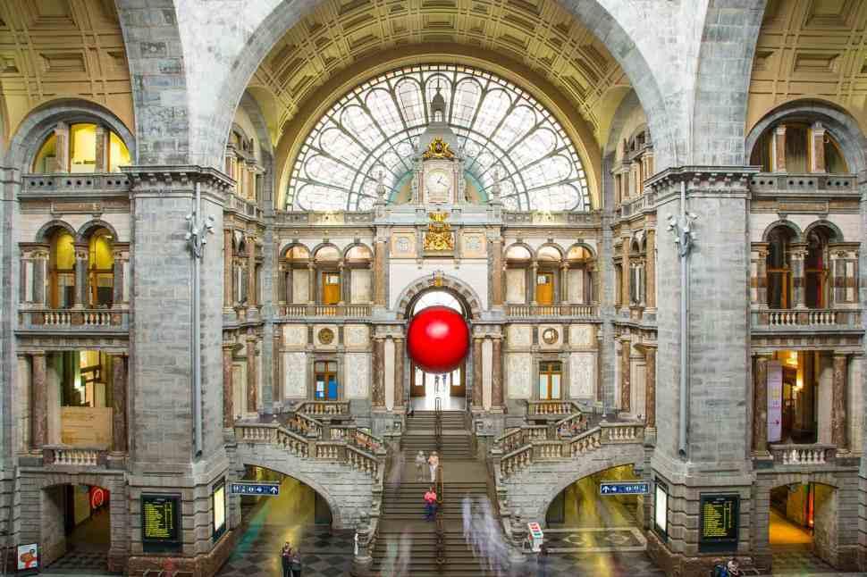 RedBall Antwerp Centaal Train Station