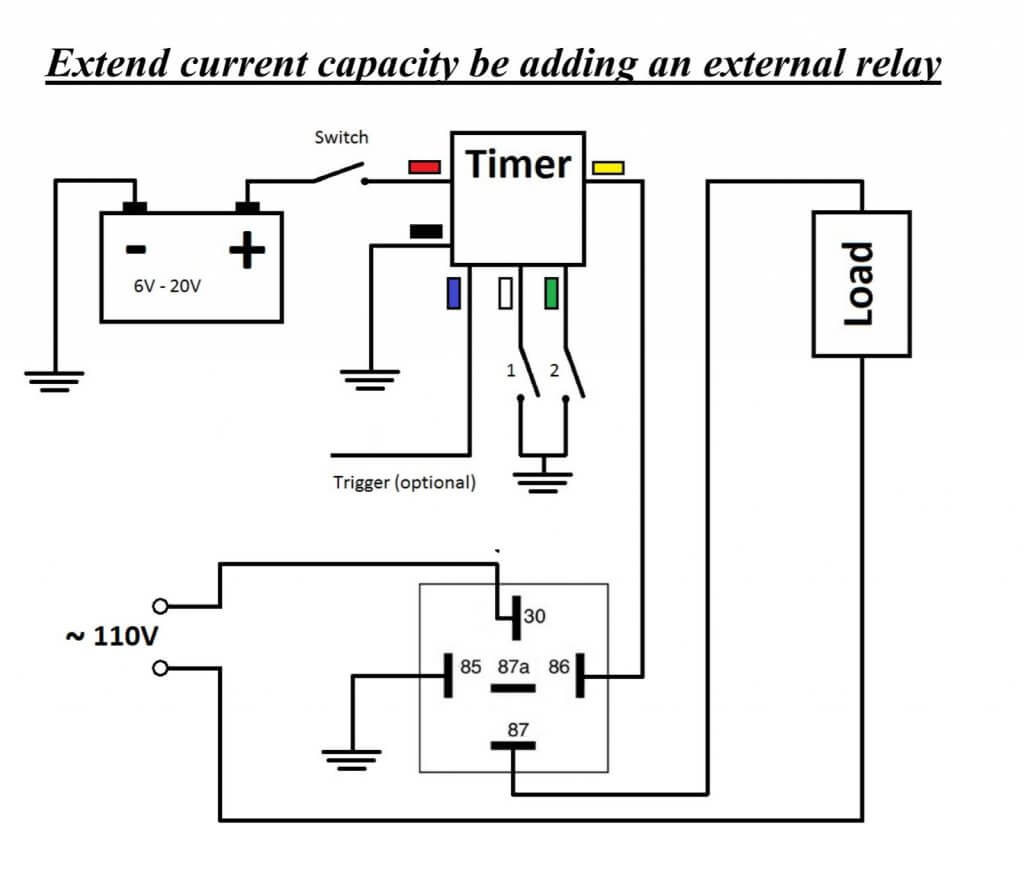 Wifi-Timer-Relay