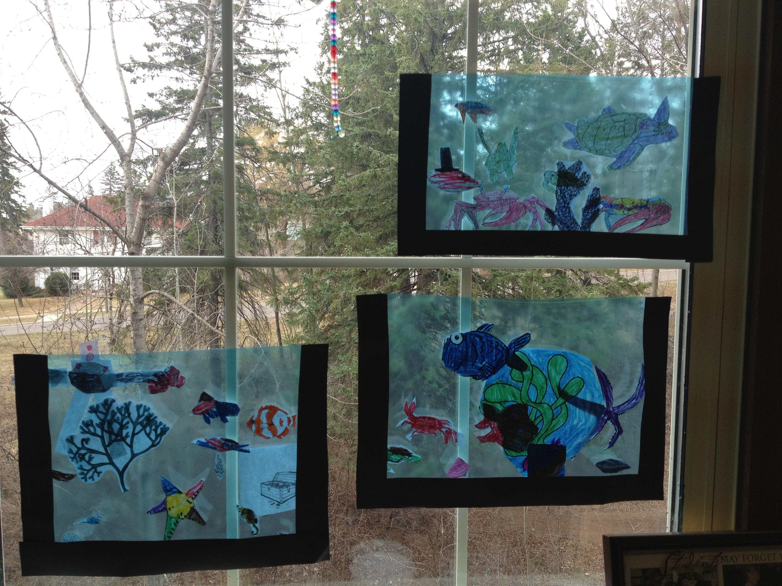 Elementary Age Art Activity