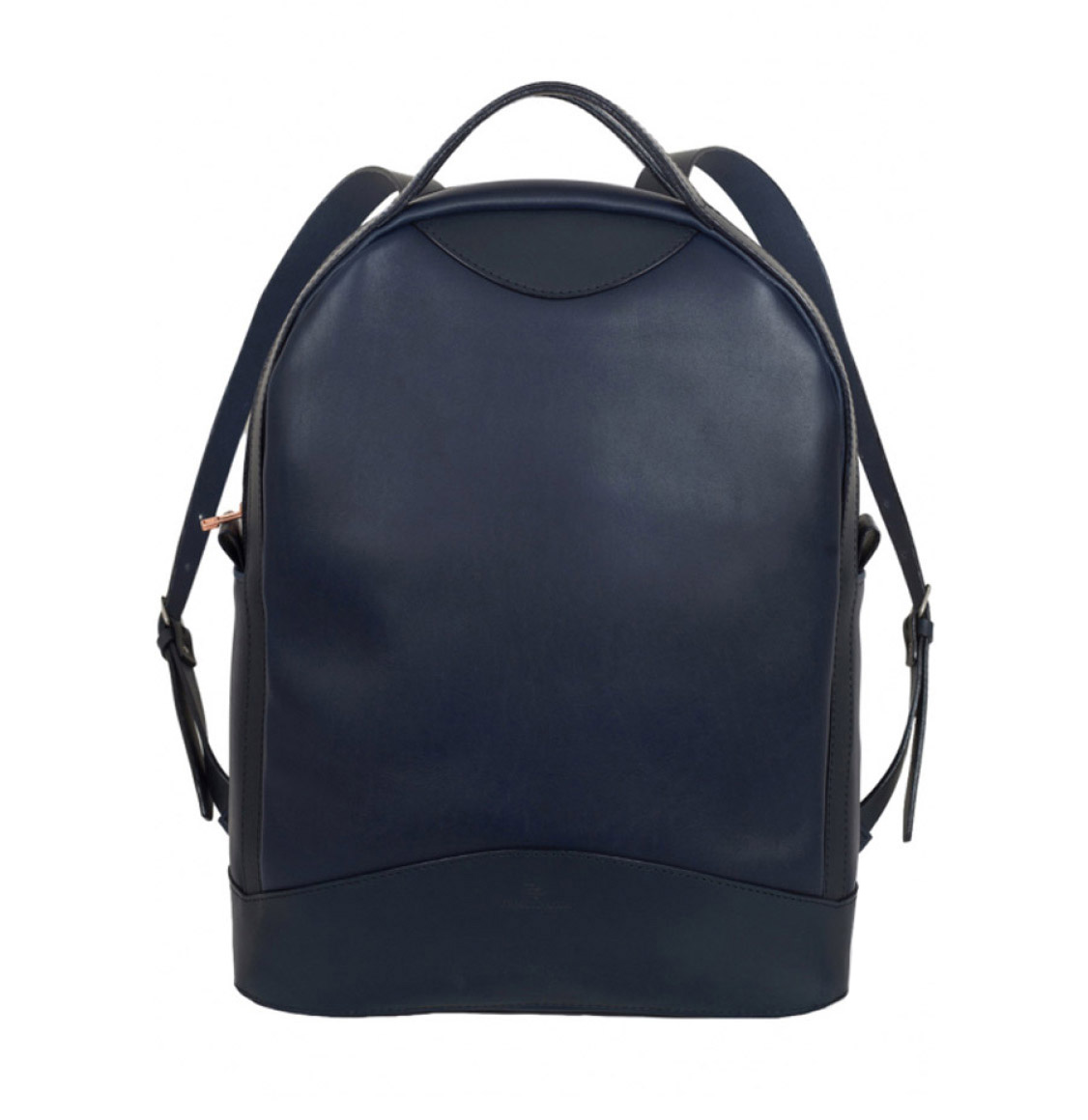 Atelier De L' Armee Voyager Pack Leather Navy