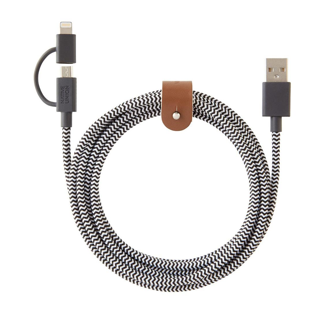 Native Union Belt Cable Twin Head 2m