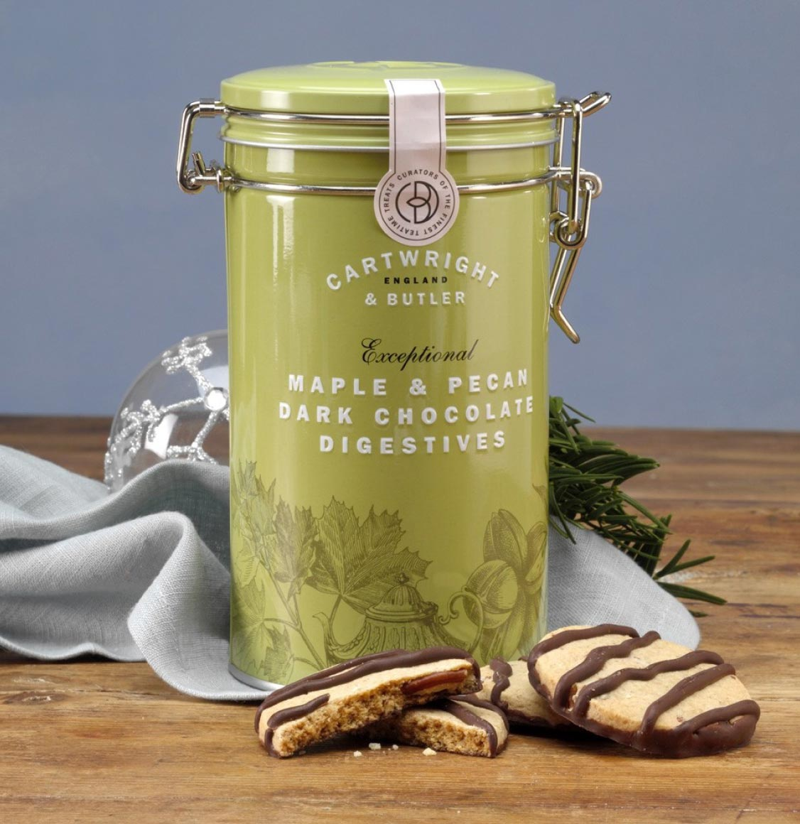 Cartwright and Butler Maple and Pecan Digestive Biscuits 200g