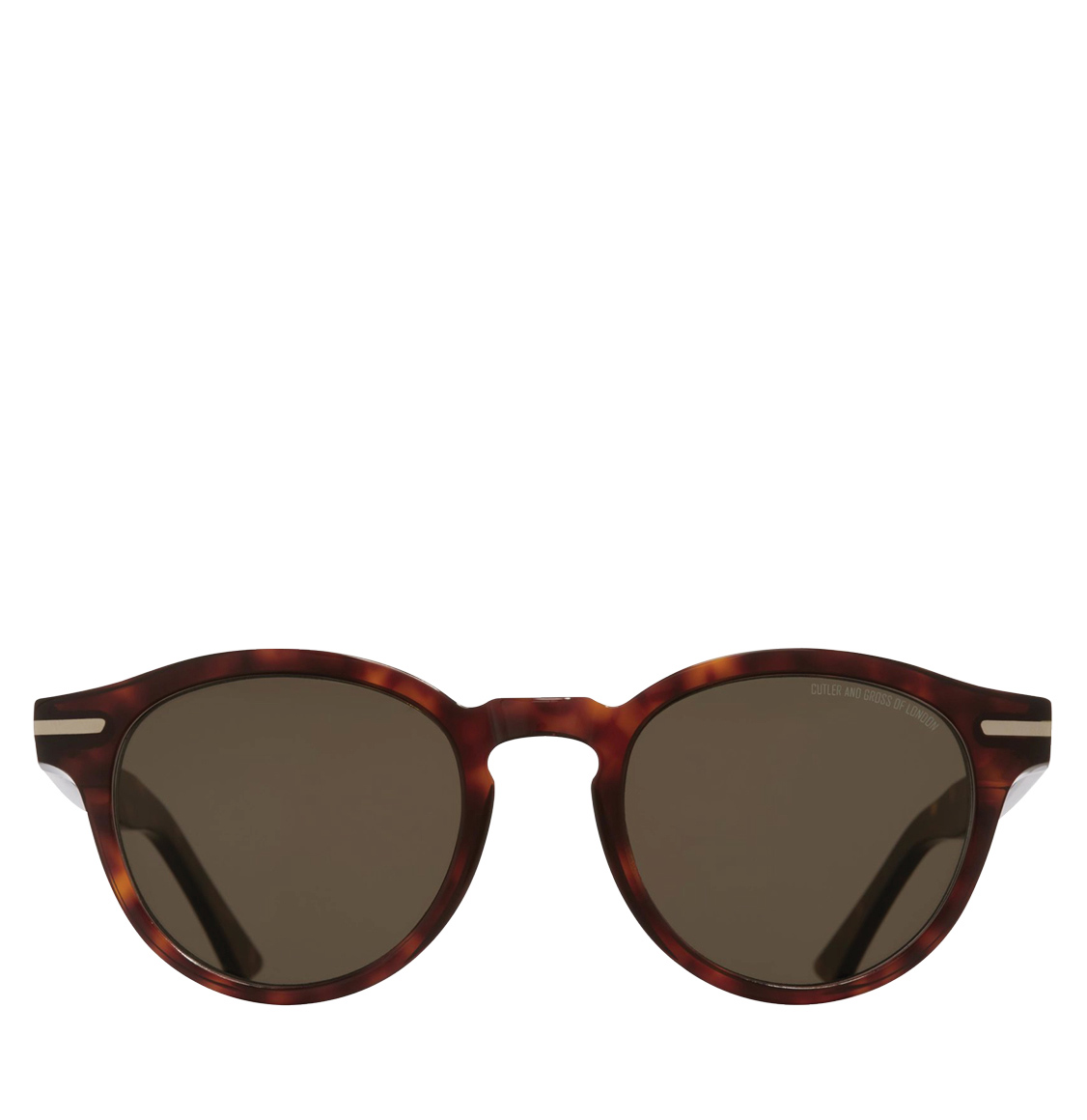Cutler and Gross 1338-02 Round-Frame Tortoiseshell Acetate 51 Γυαλιά Ηλίου
