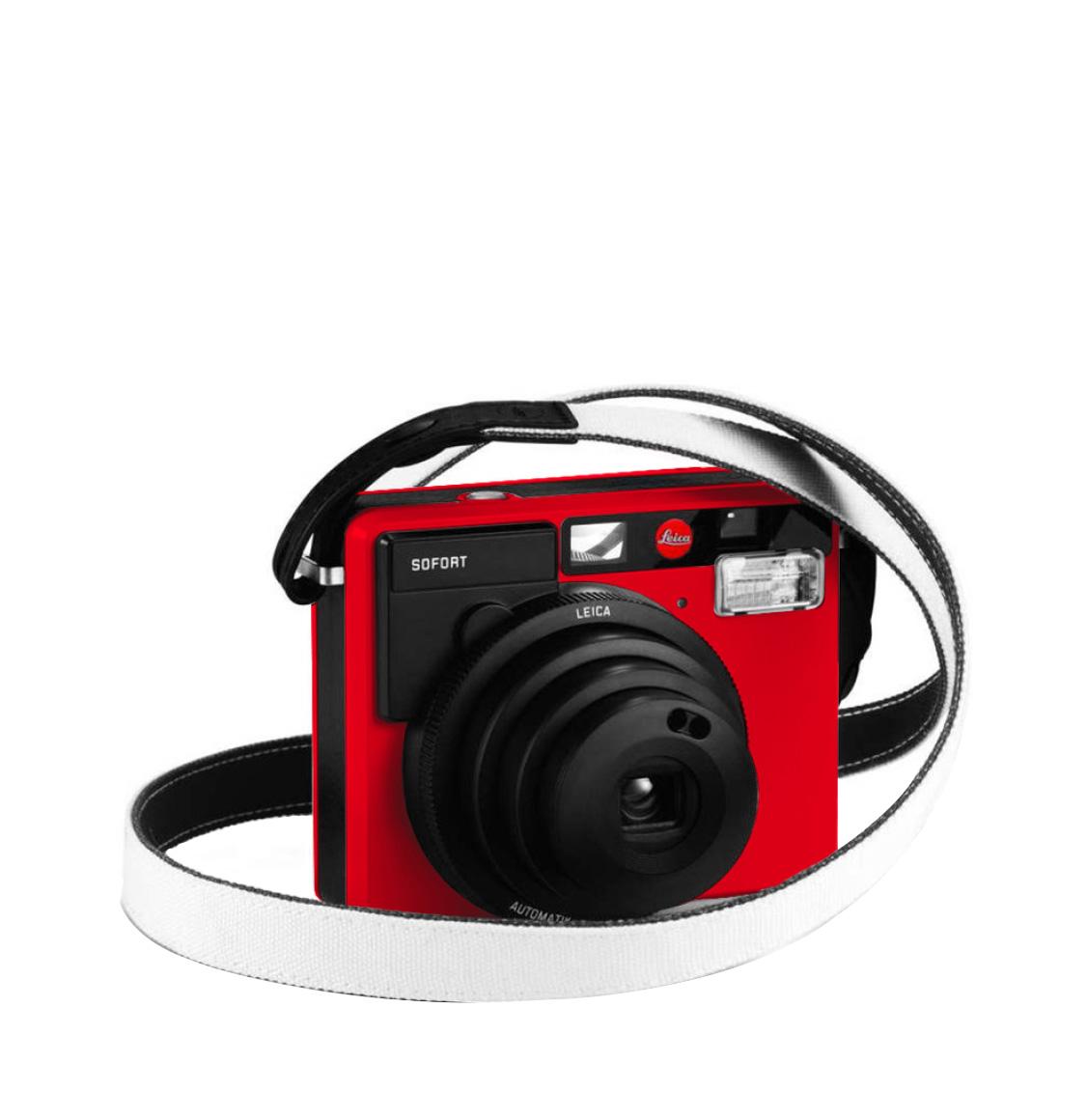 Leica Sofort Strap White