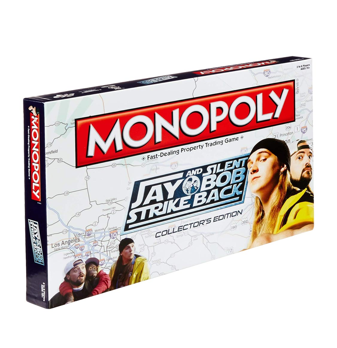Monopoly Jay and Silent Bob Strike Back English Edition USAopoly